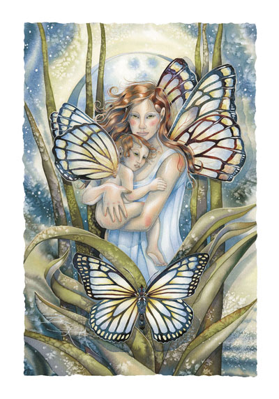 Faeries / I Will Love You Until The End Of Time - Art Card