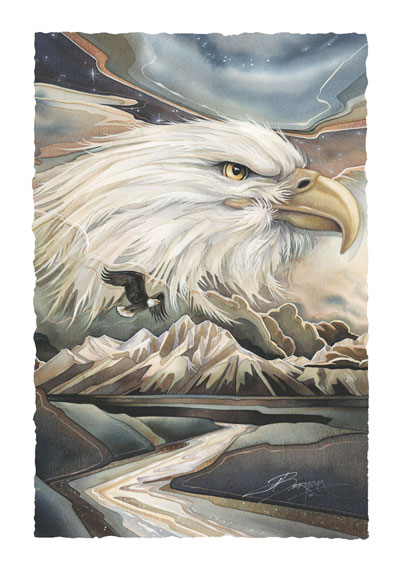 Eagles (Bald) / Your Majesty - Art Card