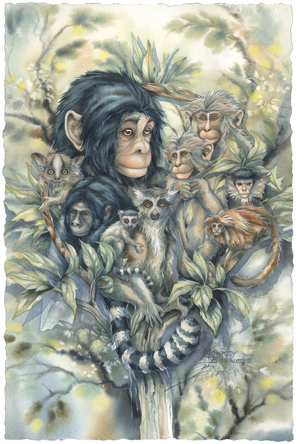 Monkey Business - Prints