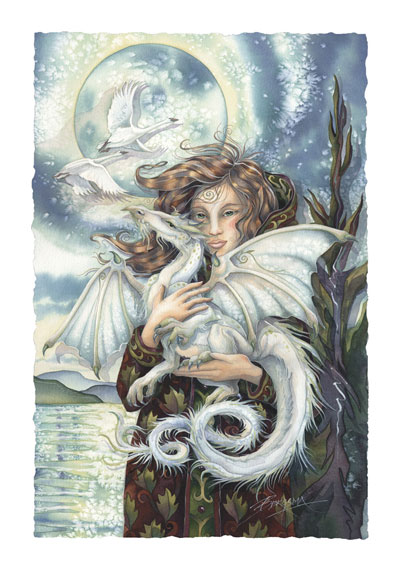 Mythological Creatures (Dragons) / Release Your Dreams - Art Card