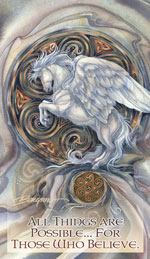 Mythological Creatures (Pegasus) / May Your Dreams Take Flight - Mailable Mini