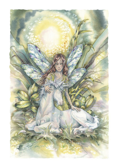 Faeries / Incredible Things Happen - Art Card
