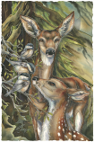 You Are So Deer To Me Small Prints (Click for options & image enlargement)