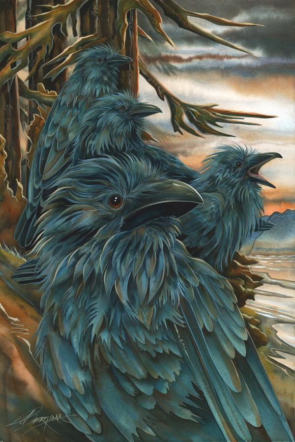 Ravens . . . Forevermore - Prints
