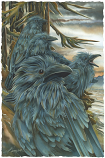 Ravens...Forevermore Small Prints (Click for options & image enlargement)