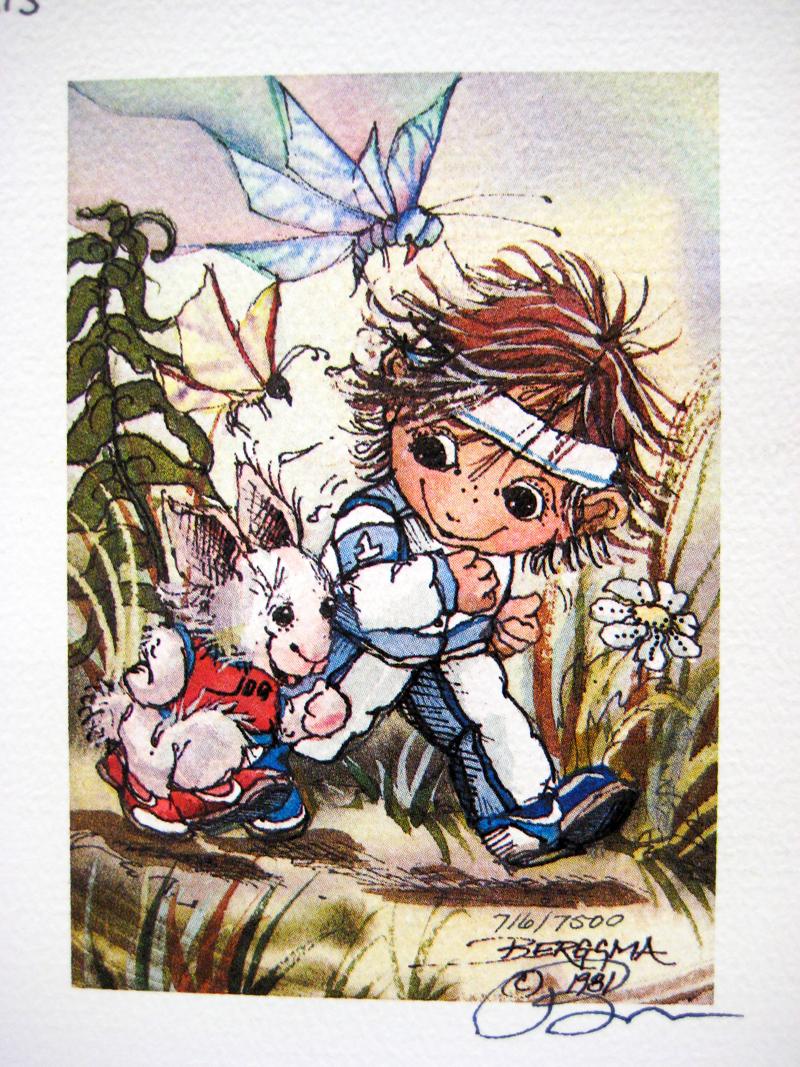 Run . . . Your Buns Off! - DreamKeeper Print