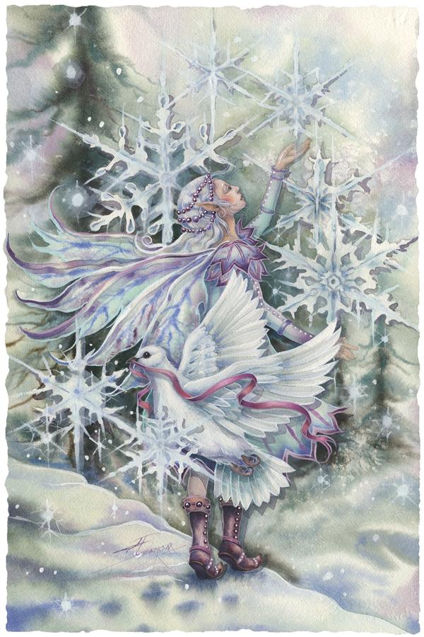 """Wishing You Peace In the Season Of Wonder"" - Prints"
