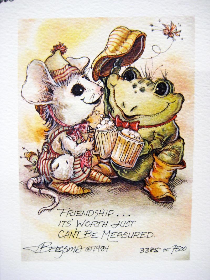 Friendship . . . - DreamKeeper Print