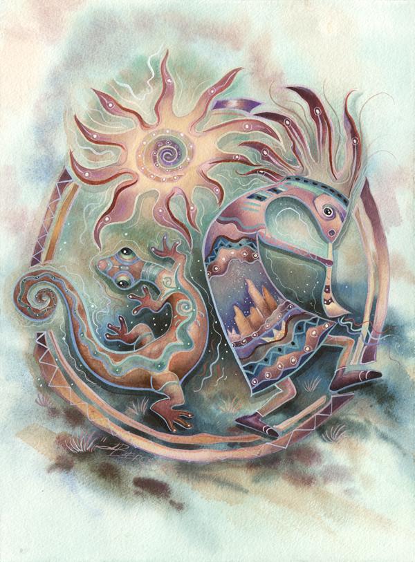 Sun Dancers - Prints