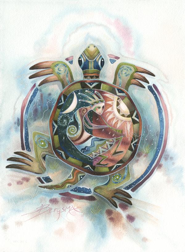 Turtle Wisdom - Prints