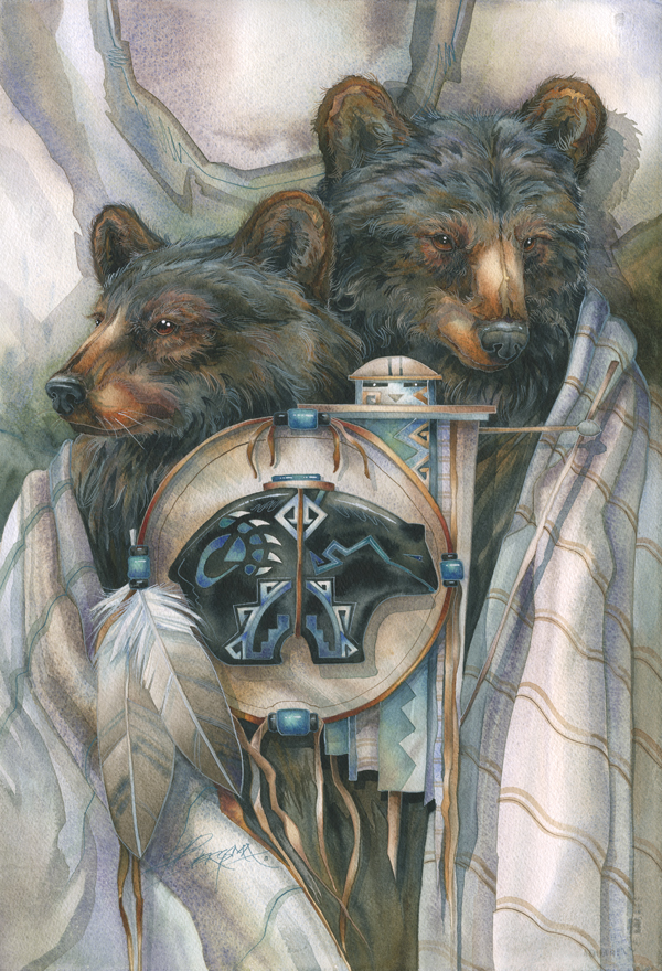 Bear Medicine- Prints