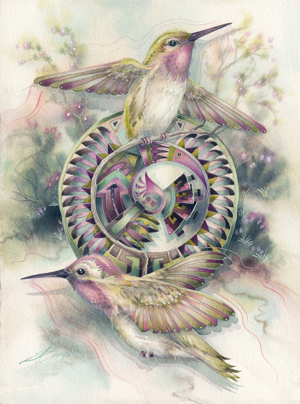 Dancing Wings - Print