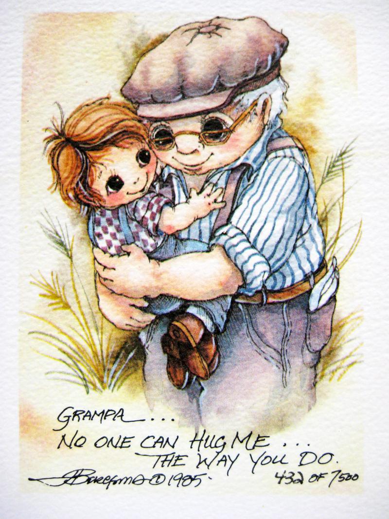 Grandpa . . . - DreamKeeper Print