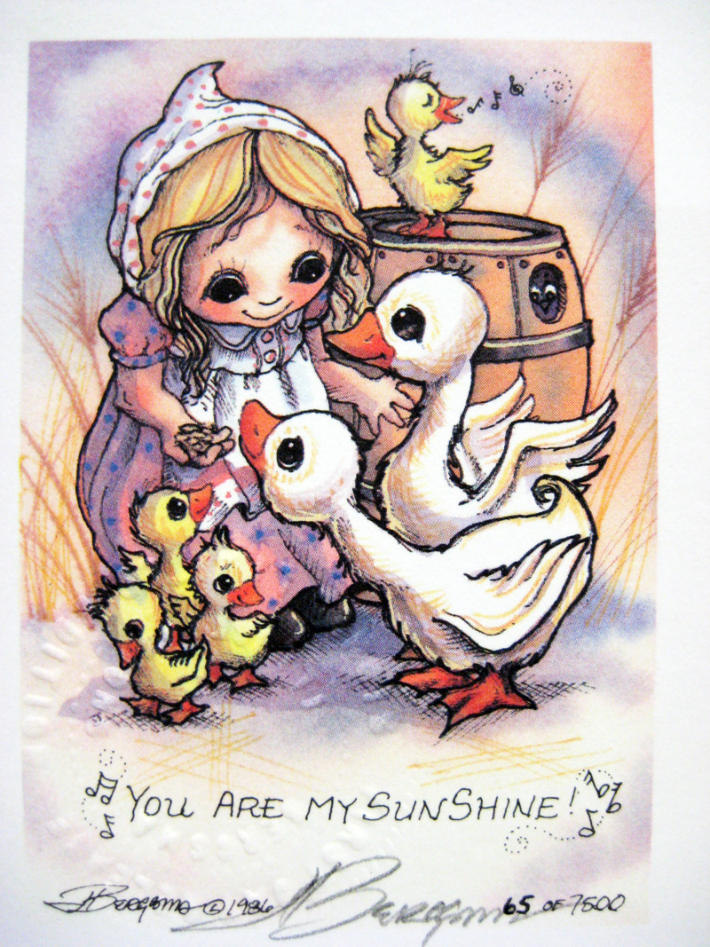 You Are My Sunshine - DreamKeeper Print