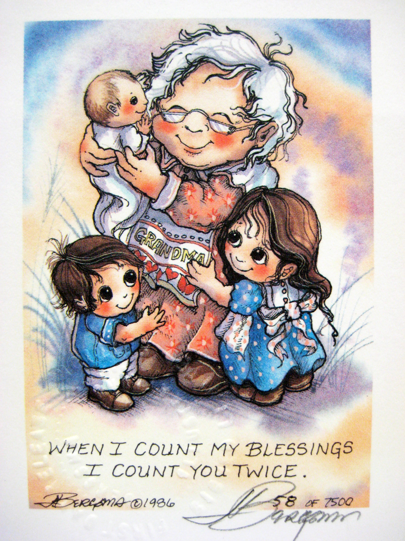 When I Count My Blessings - DreamKeeper Print