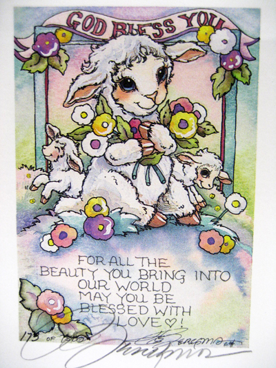 God Bless You - DreamKeeper Print