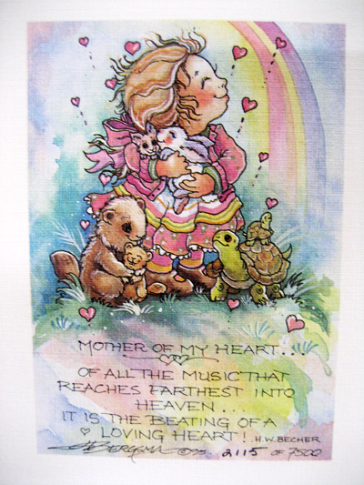 Mother Of My Heart - DreamKeeper Print