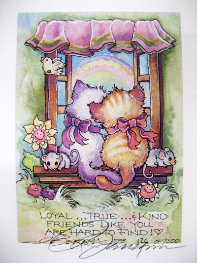 Loyal Friends - DreamKeeper Print