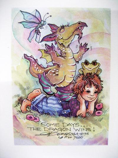 Some Days... - DreamKeeper Print