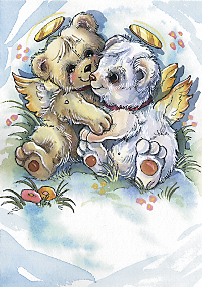 Angel Bears - DreamKeeper Print