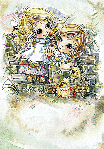 Sisters - DreamKeeper Print