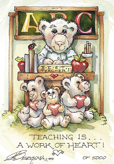 Teaching - DreamKeeper Print