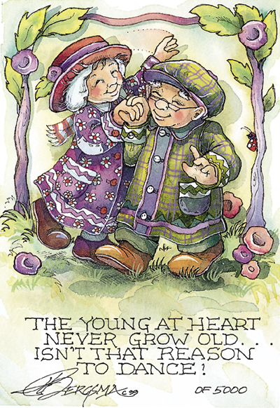The Young At Heart - DreamKeeper Print