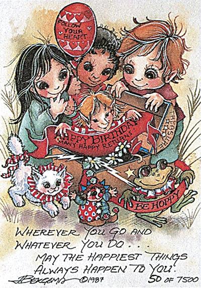 Happy Birthday - DreamKeeper Print