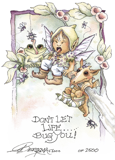 Don't Let Life Bug You - DreamKeeper Print