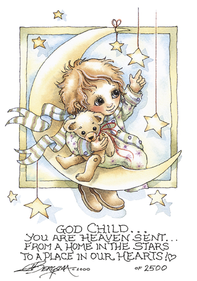 God Child - DreamKeeper Print