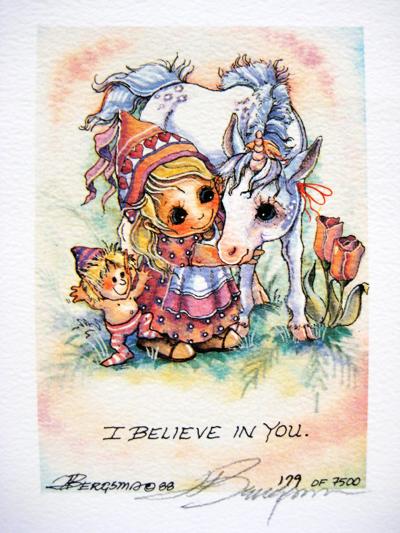 I Believe - DreamKeeper Print