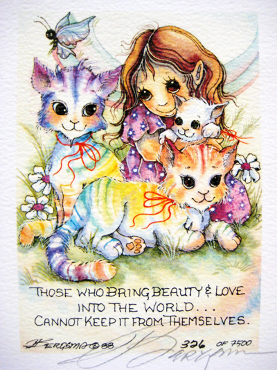 Those Who Bring Beauty - DreamKeeper Print