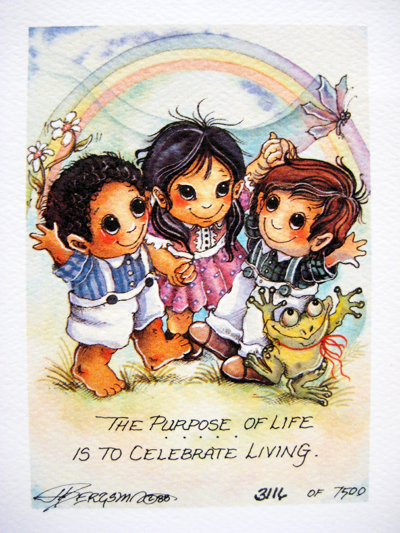 The Purpose Of Life - DreamKeeper Print
