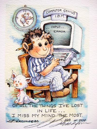 I Miss My Mind The Most - DreamKeeper Print