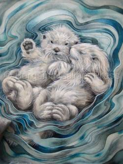 A Love Like No Otter - Art Card