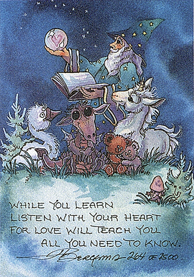 Listen With Your Heart - DreamKeeper Print