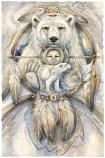 Spirit Bear Small Prints (Click for options & image enlargement)