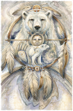 Spirit Bear Large Prints (Click for options & image enlargement)