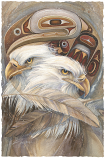 Eagle Totem Small Prints (Click for options & image enlargement)