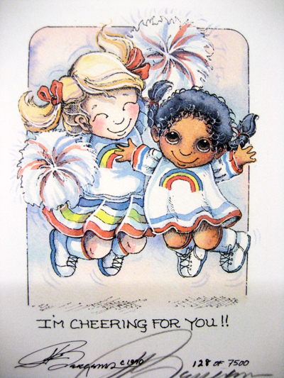 I'm Cheering For You - DreamKeeper Print