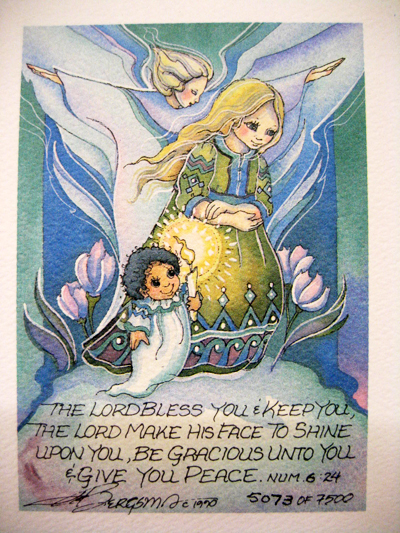 Lord Bless You - DreamKeeper Print