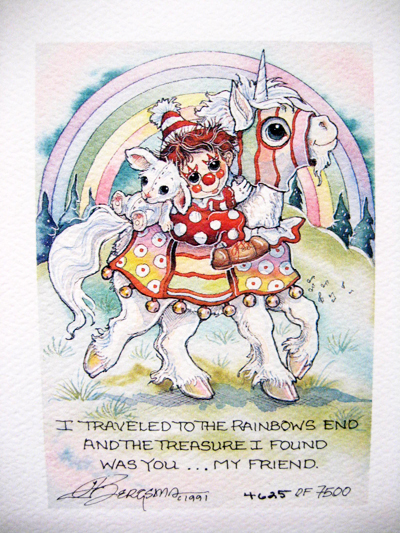 Rainbows End - DreamKeeper Print