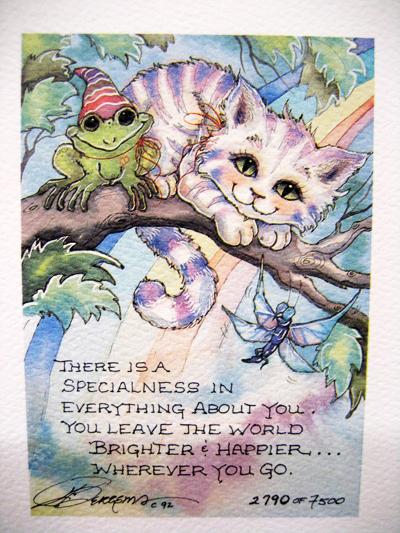 Wherever You Go - DreamKeeper Print