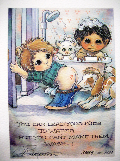 Lead Your Kids To Water - DreamKeeper Print