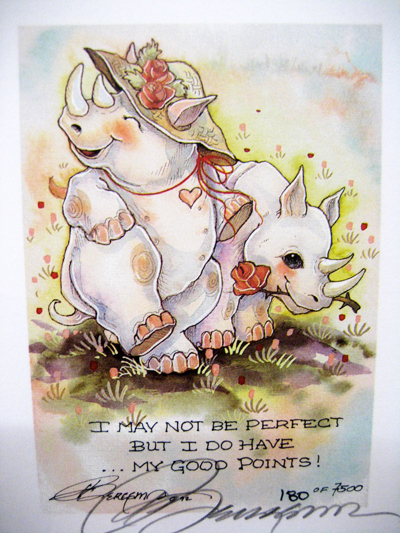 I May Not Be Perfect... - DreamKeeper Print