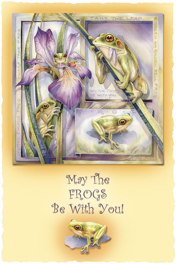 May The Frogs Be With You - Prints