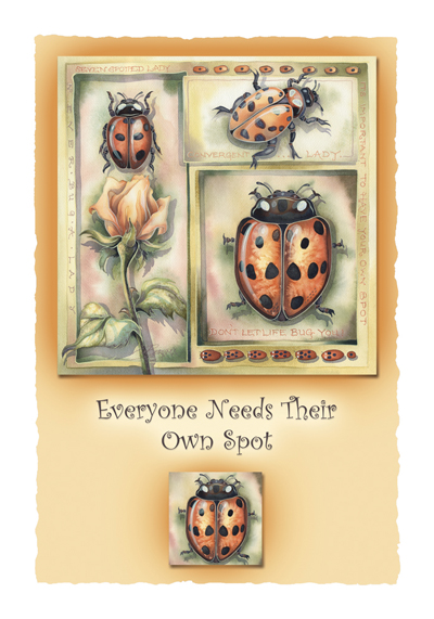 Bugs Misc. / Everyone Needs Their Own Spot - Art Card