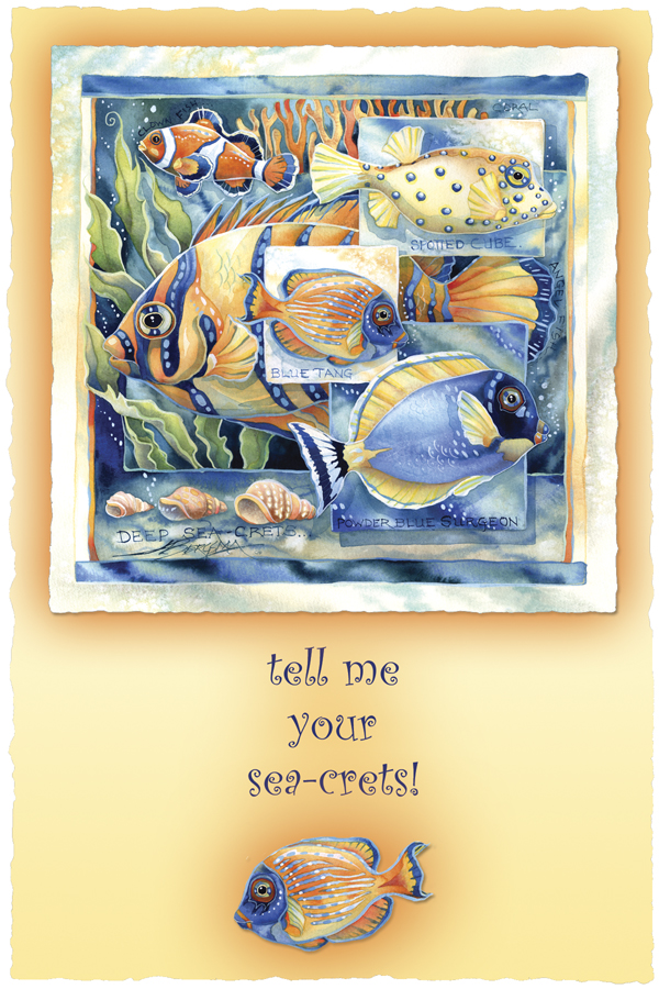 Tell Me Your Sea-crets - Prints