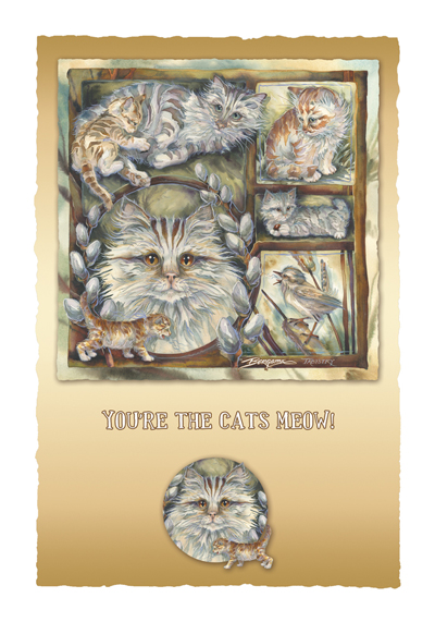 Cats / Tabistry - Art Card