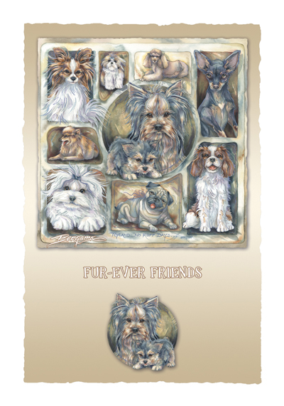 Dogs / Toyland - Art Card